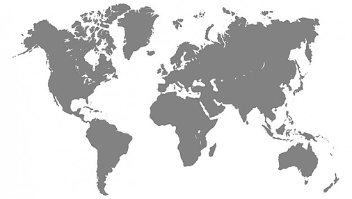 grey-world-map